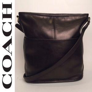 Coach Bucket Slim Vintage Black Bag